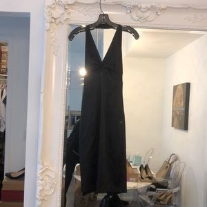 Laundry Black Halter Cocktail Dress size 2